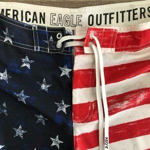 AEO AMERICAN EAGLE Board Shorts Swim Trunks